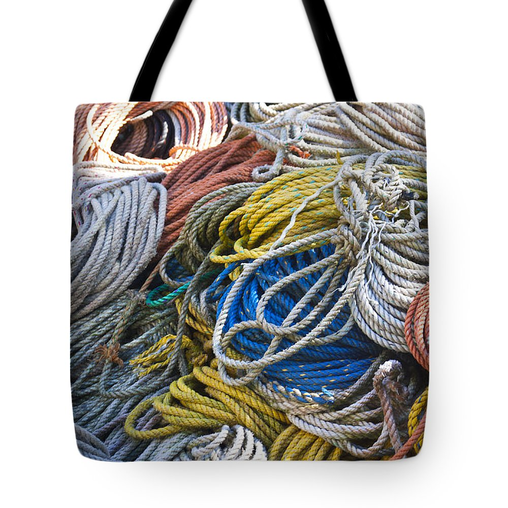 Color Tote Bag featuring the photograph Colorful Lines by Jean Macaluso