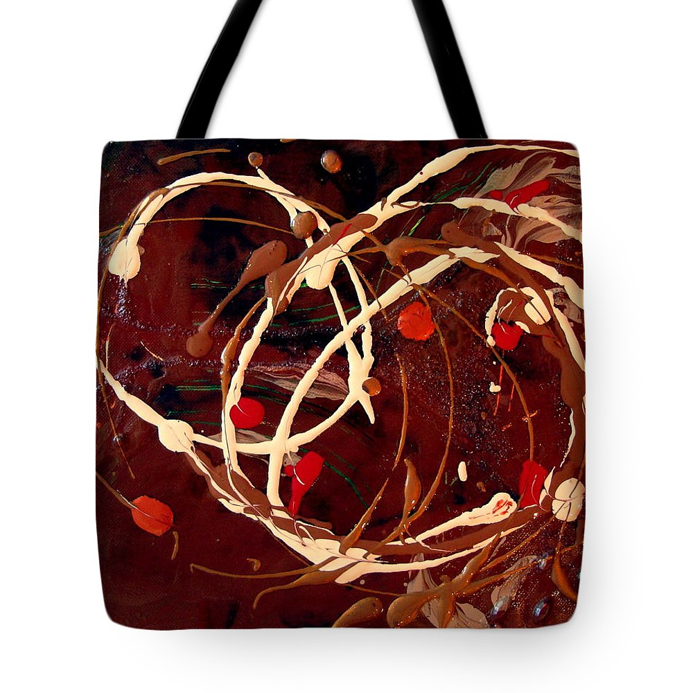 Autumn Tote Bag featuring the painting Colors Of Autumn by Holly Picano