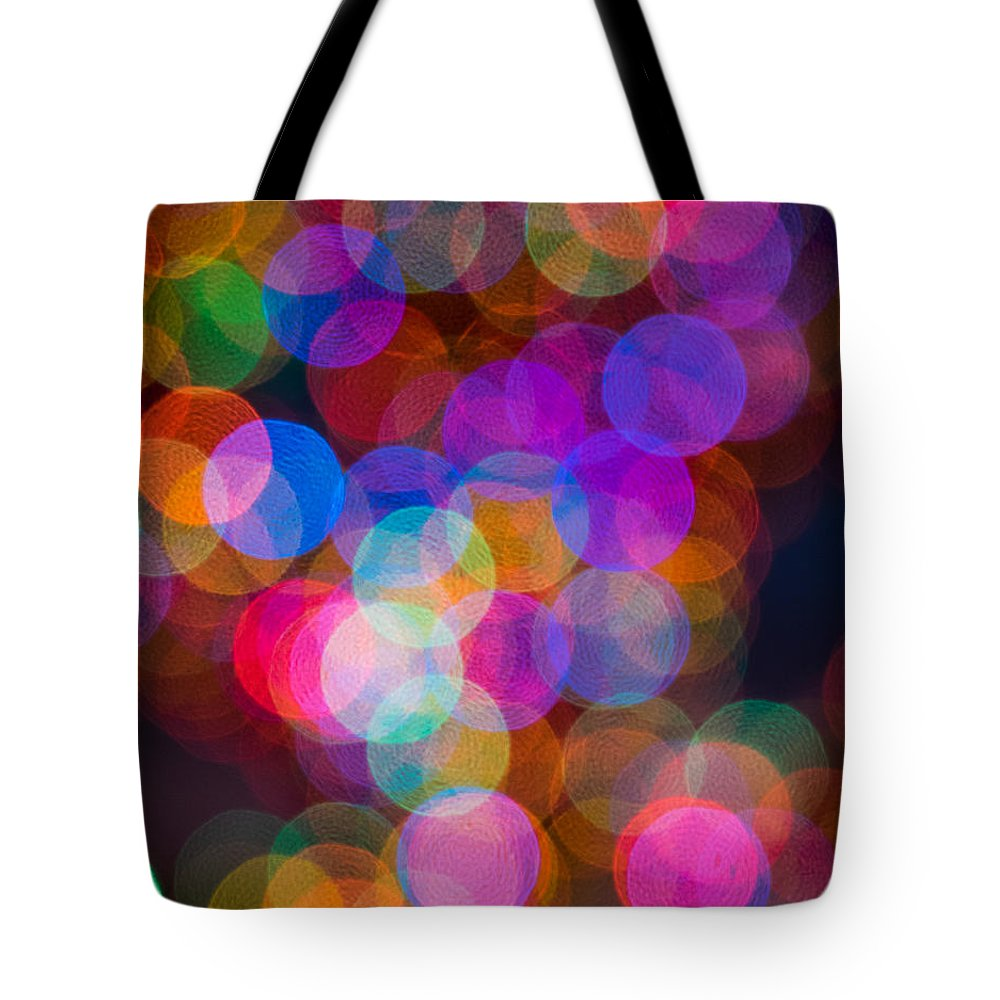 Balls Tote Bag featuring the photograph Colors Of Christmas by David Kay