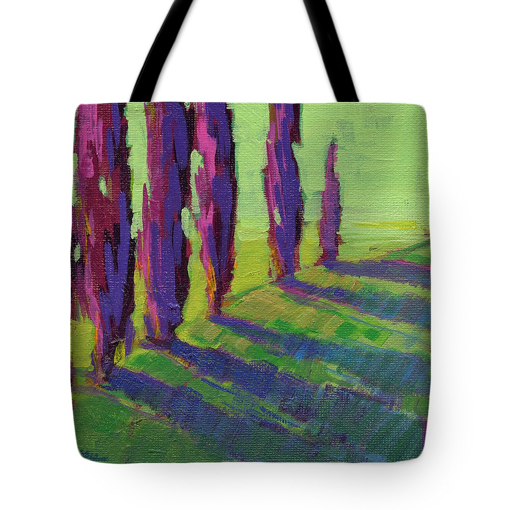 Konnie Kim Tote Bag featuring the painting Colors Of Summer 1 by Konnie Kim