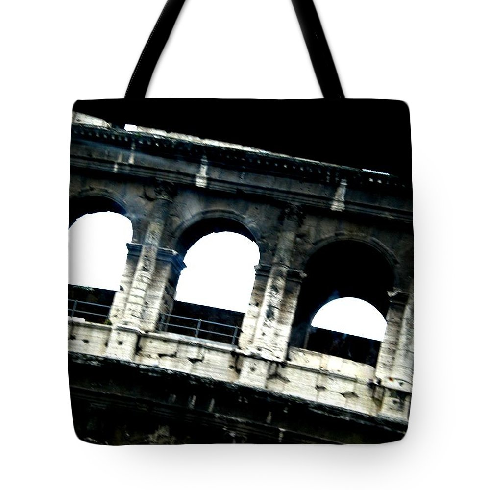 Colosseum Tote Bag featuring the photograph Colosseum by Marcello Cicchini
