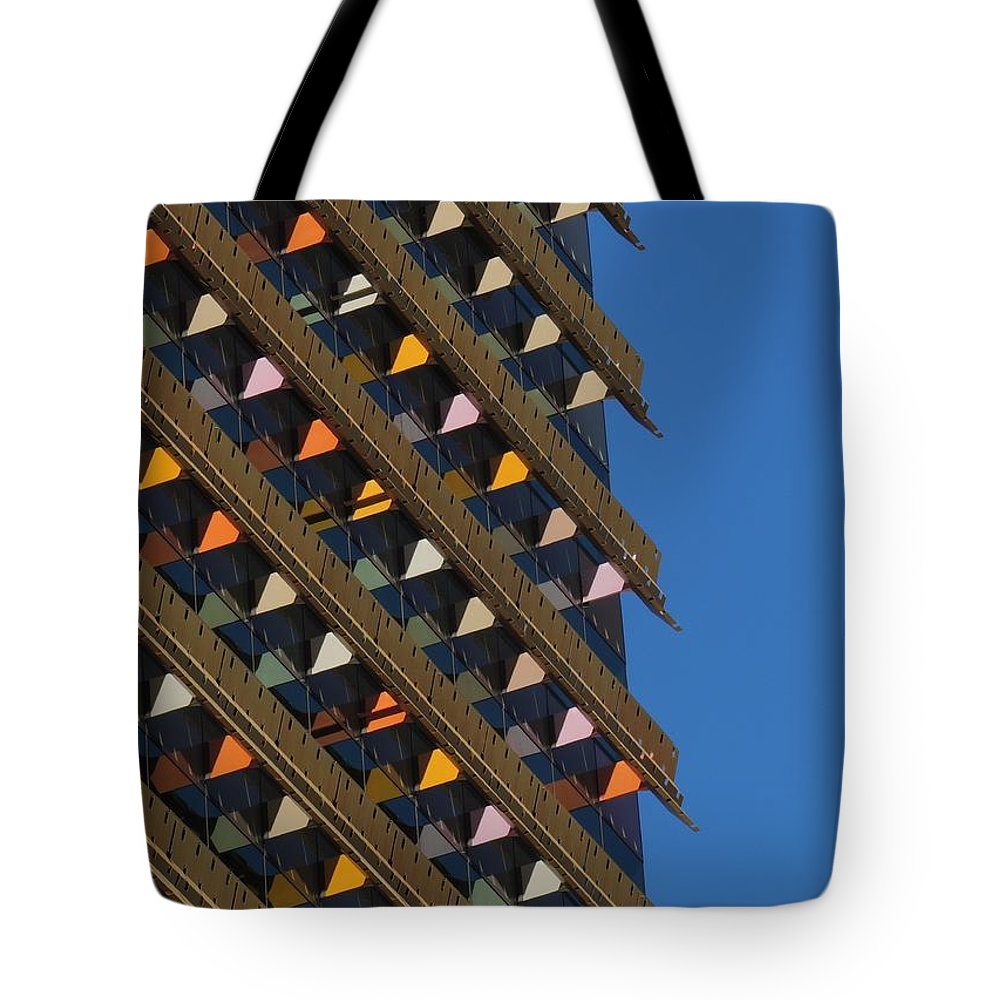 Brisbane Tote Bag featuring the photograph Colours In The Sky by Denise Clark