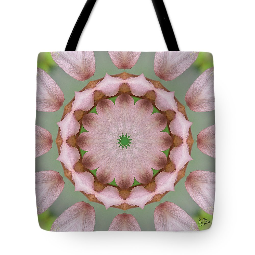 Kaleidoscope Tote Bag featuring the photograph Columbine Kaleidoscope by Betty Denise