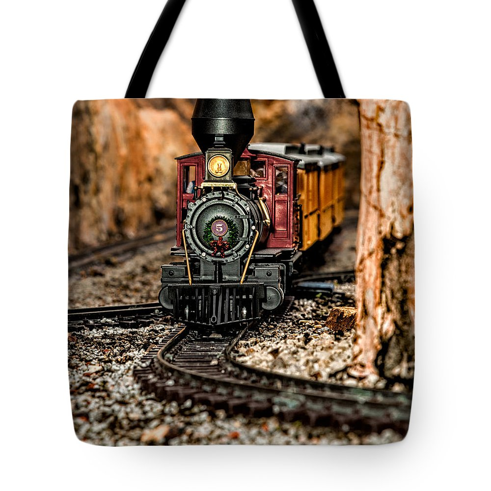 Christopher Holmes Photography Tote Bag featuring the photograph Coming Round The Bend by Christopher Holmes