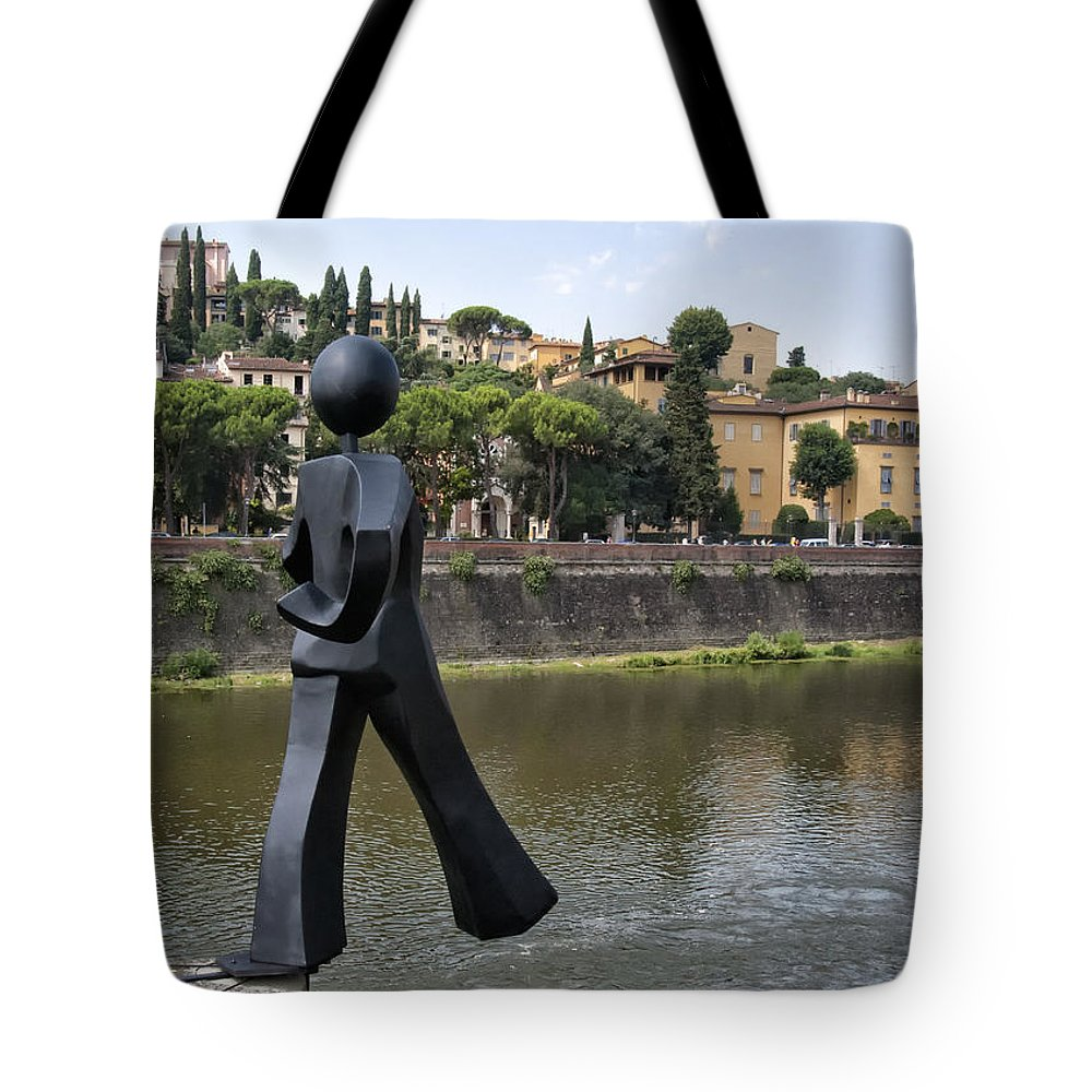 Arno Tote Bag featuring the photograph Common Man by Melany Sarafis