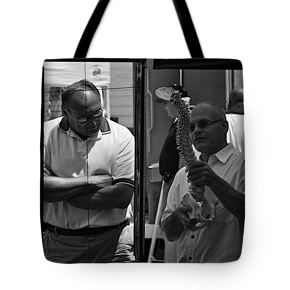 Medicine Tote Bag featuring the photograph Complimentary Medicine by Frank J Casella