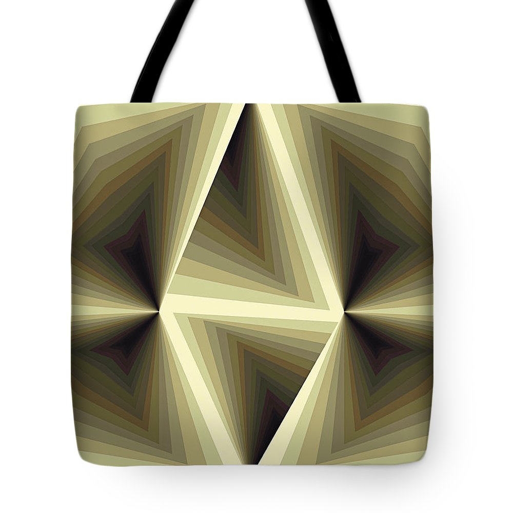 Tablet Tote Bag featuring the painting Composition 192 by Terry Reynoldson