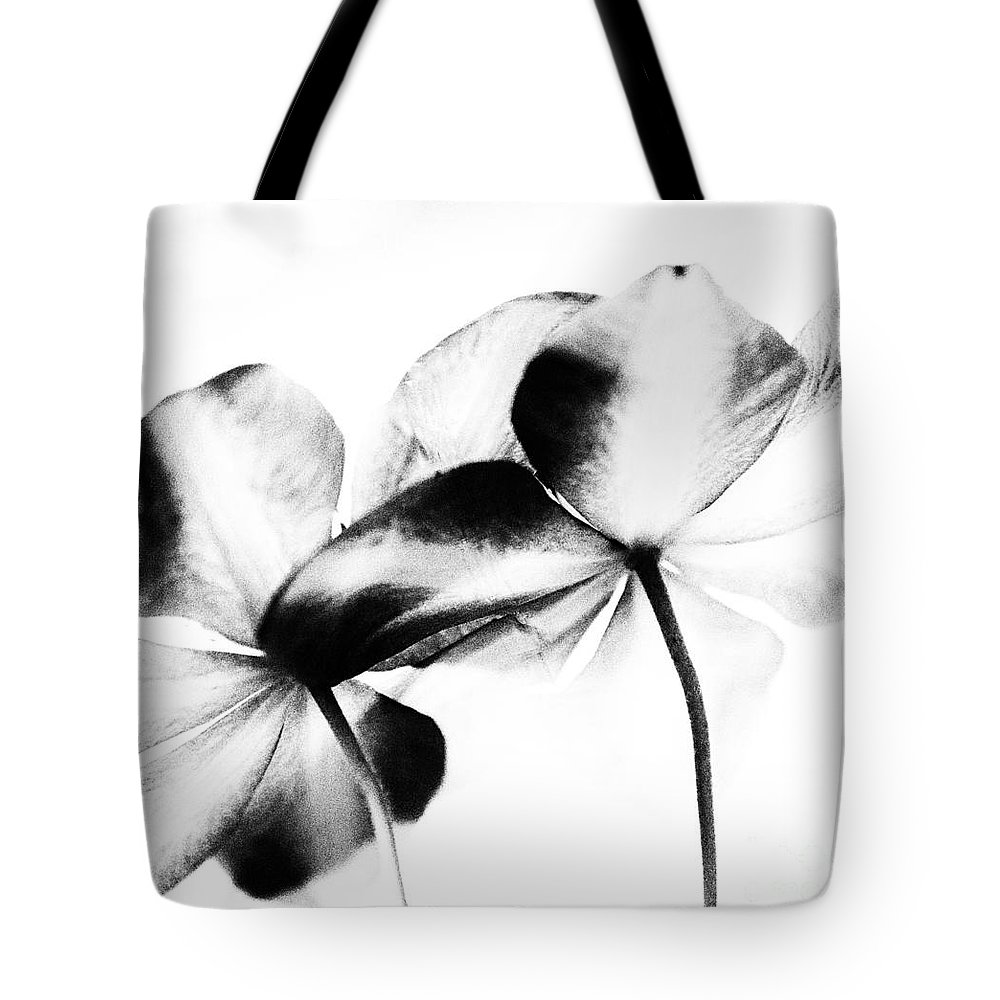 Fine Art Tote Bag featuring the photograph Petal Abstract by Denise Woldring