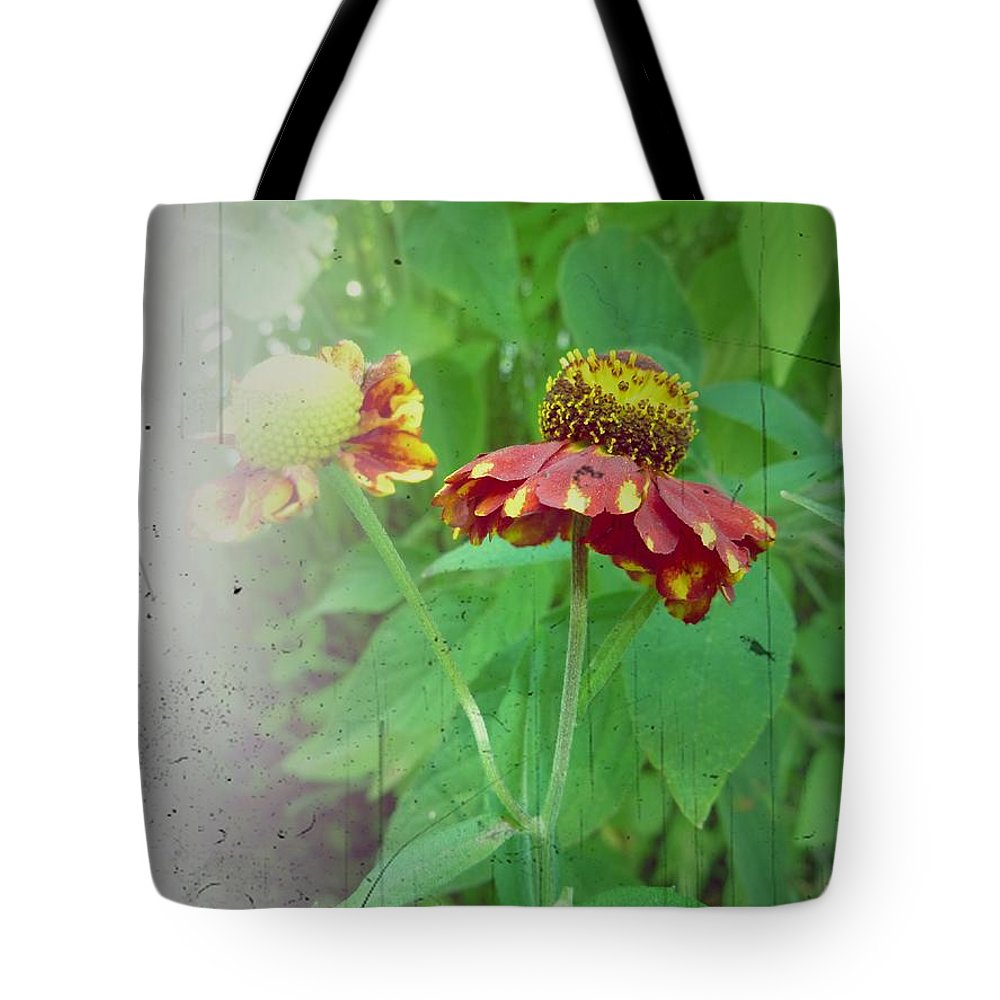 Flower Tote Bag featuring the photograph Coneflower Vintage by Patricia Strand