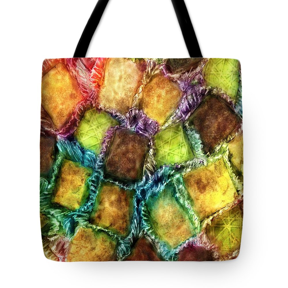 Candy Tote Bag featuring the digital art Confections by Ric Darrell