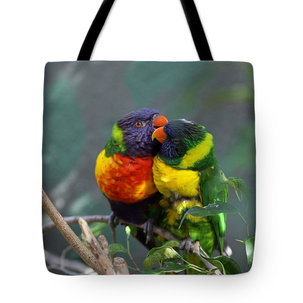 Lory Tote Bag featuring the photograph Confide A Secret by Christiane Schulze Art And Photography
