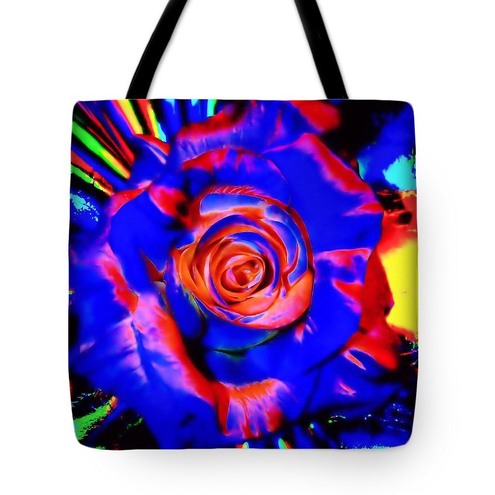 Bright Tote Bag featuring the digital art Confidence by Michelle McPhillips