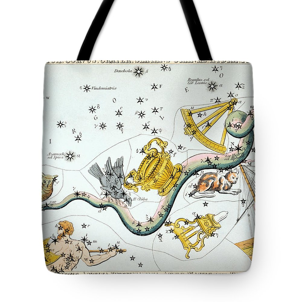 1825 Tote Bag featuring the photograph Constellation: Hydra by Granger