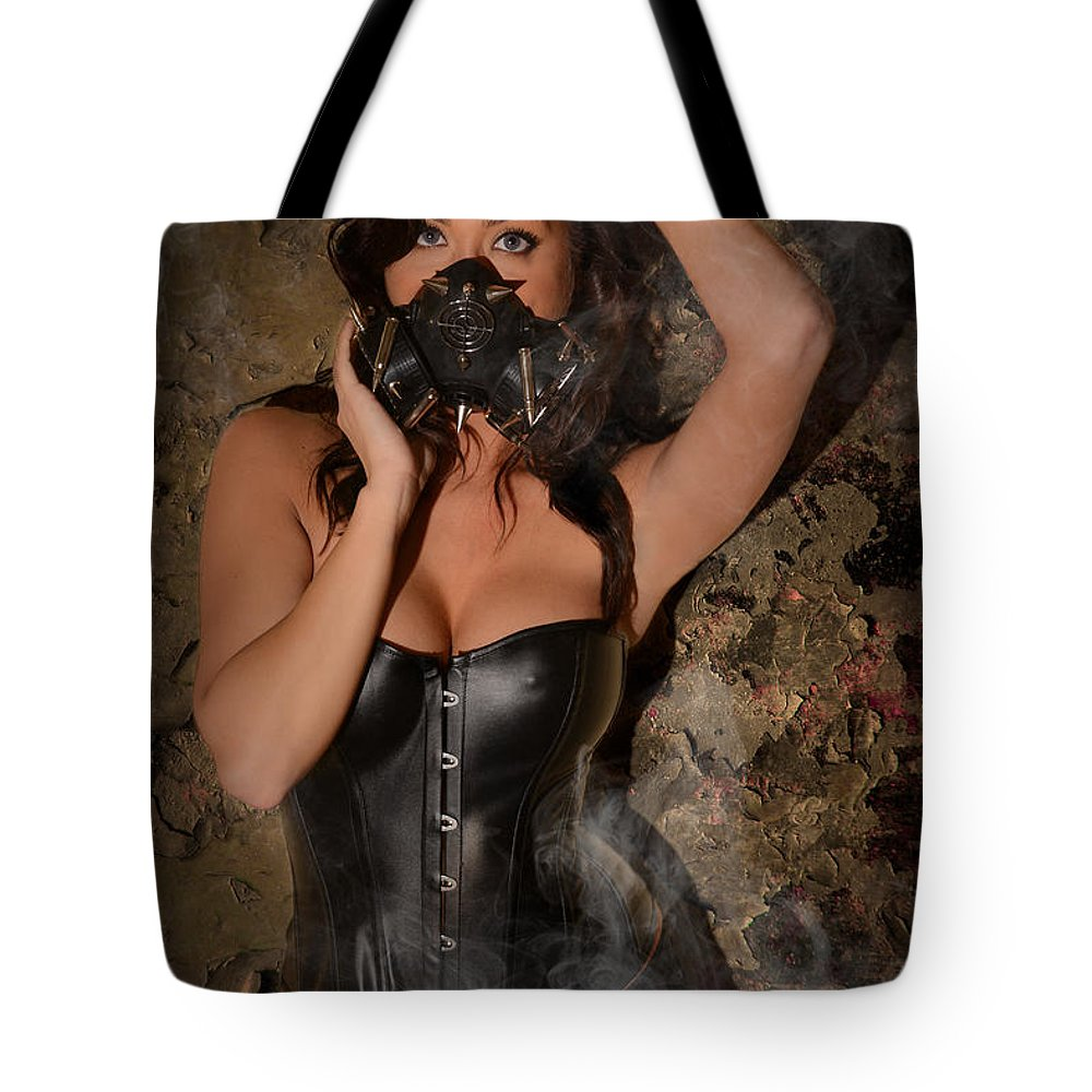 Woman Tote Bag featuring the photograph Contamination by Jt PhotoDesign