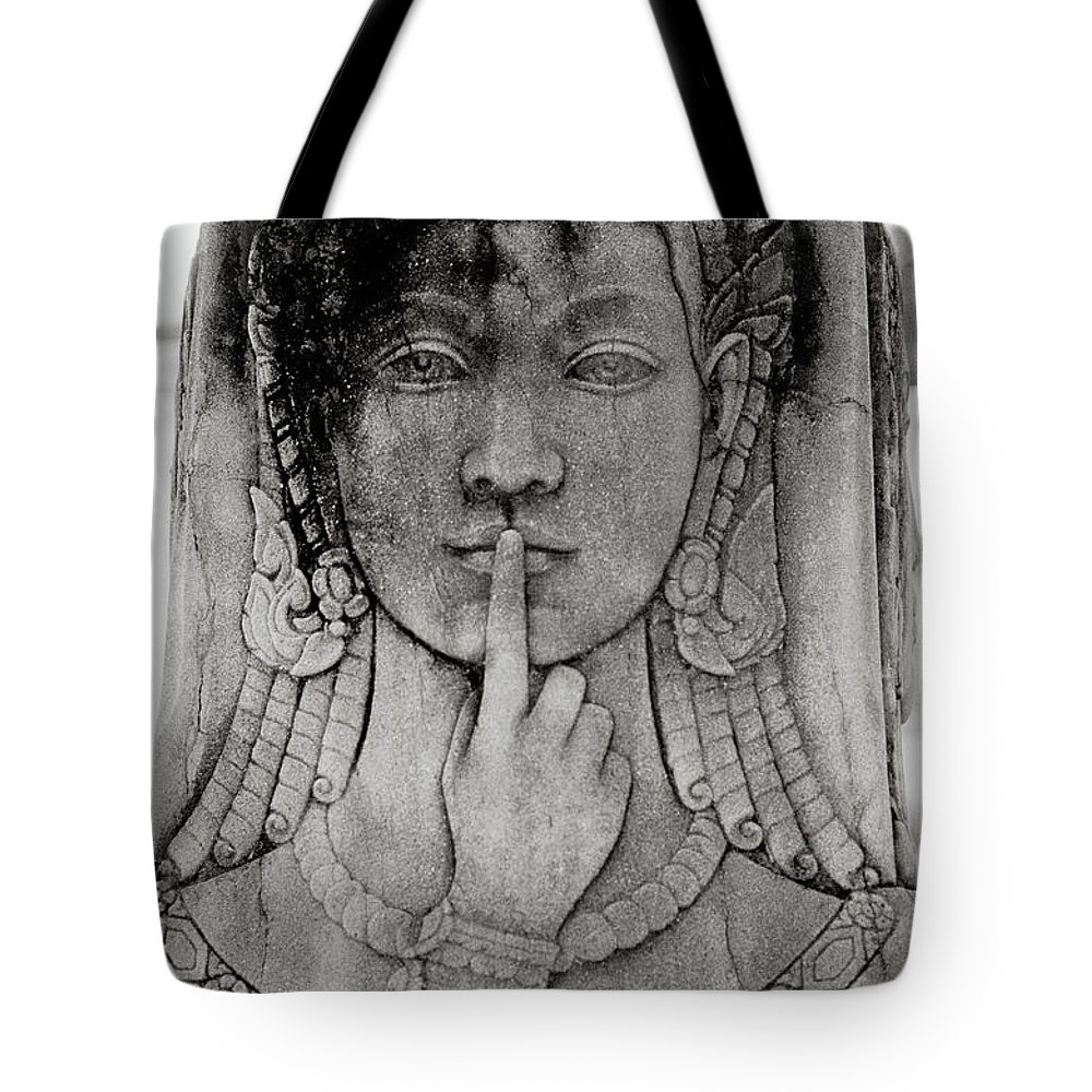 Solitude Tote Bag featuring the photograph Isolation by Shaun Higson