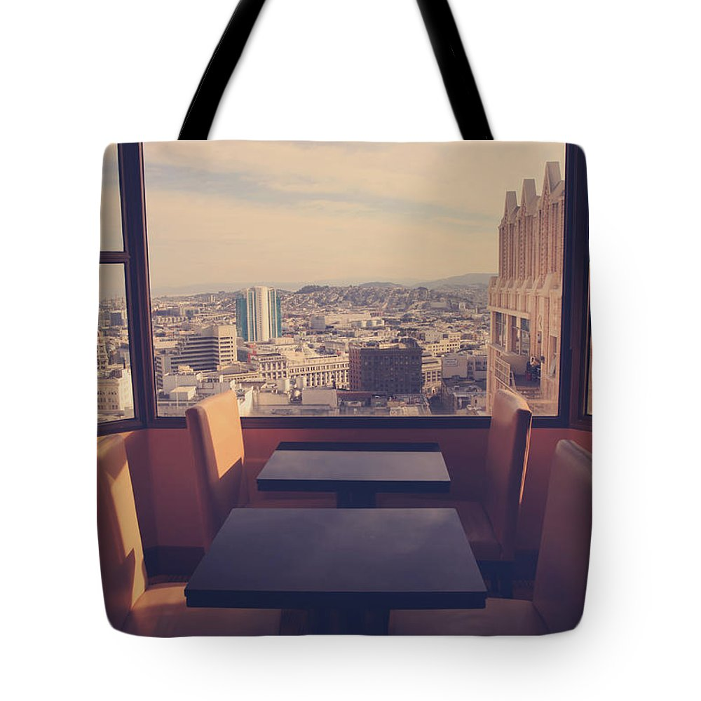 San Francisco Tote Bag featuring the photograph Continental Breakfast by Laurie Search