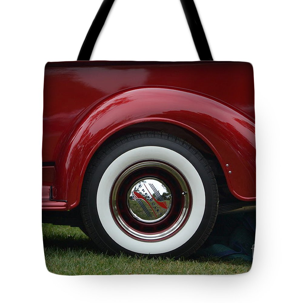 Tote Bag featuring the photograph Cool Chevy Pickup by Dean Ferreira