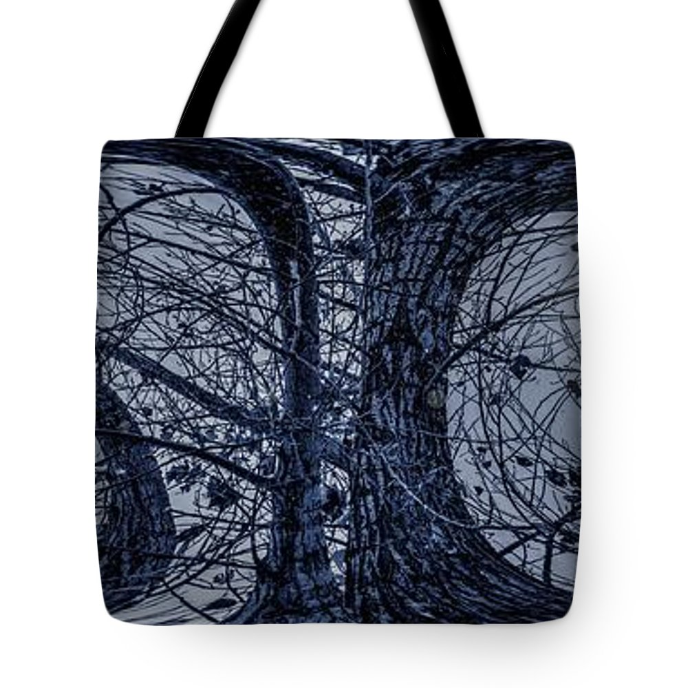 Abstracts Tote Bag featuring the digital art Cool Shades Dude by Aliceann Carlton