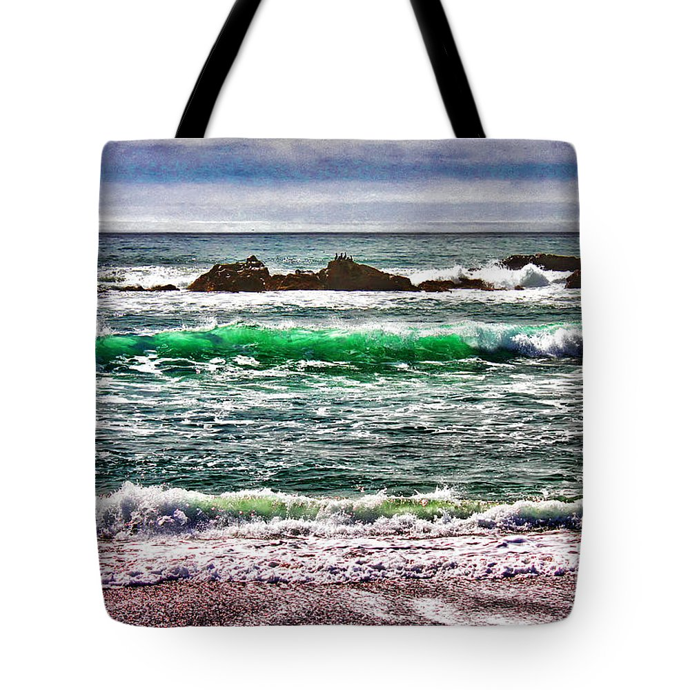 Elephant Seal Tote Bag featuring the photograph Cooling Off by Stefan H Unger