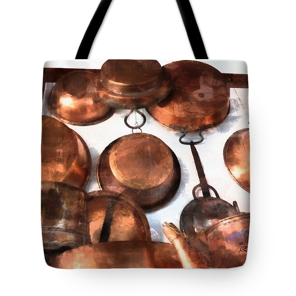 Copper Tote Bag featuring the photograph Copper - Featured In Inanimate Objects Group by Ericamaxine Price