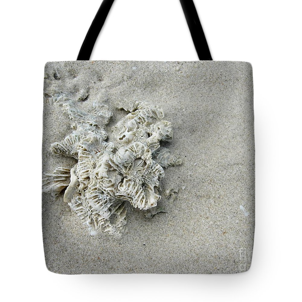 Michelle Meenawong Tote Bag featuring the photograph Coral by Michelle Meenawong