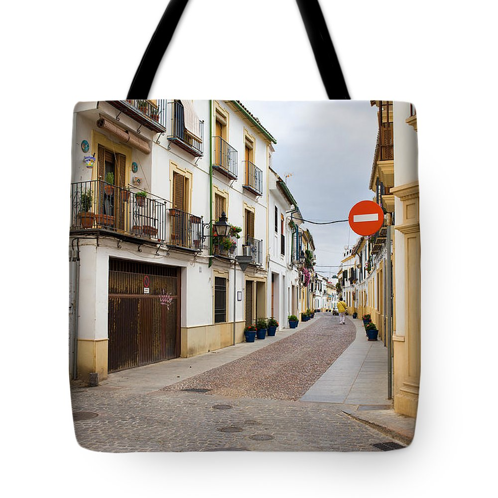 Andalucia Tote Bag featuring the photograph Cordoba Old Town Houses by Artur Bogacki