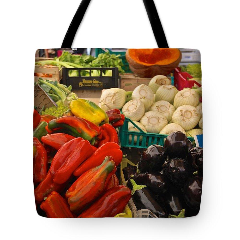 Market Tote Bag featuring the photograph Cornucopia's Abundance by Eric Tressler