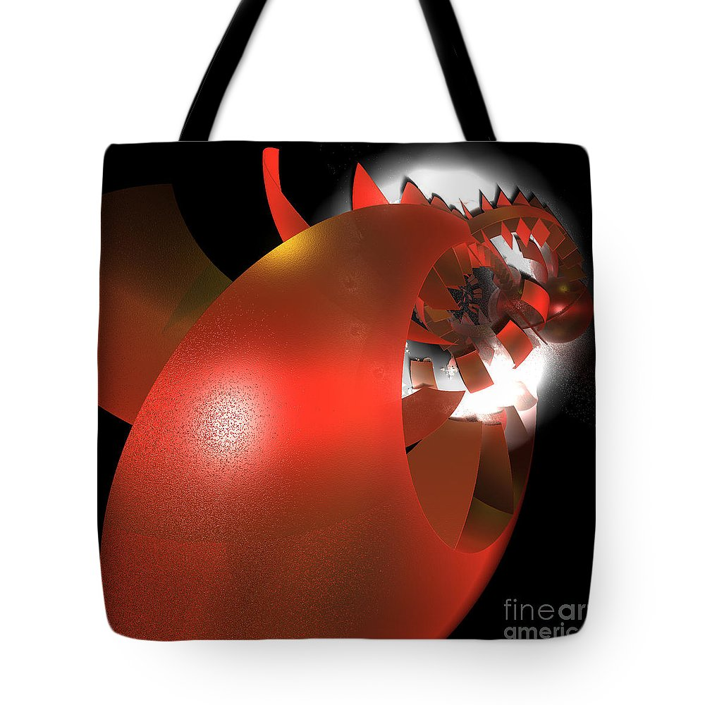 First Star Art Tote Bag featuring the digital art Corporation By Jammer by First Star Art