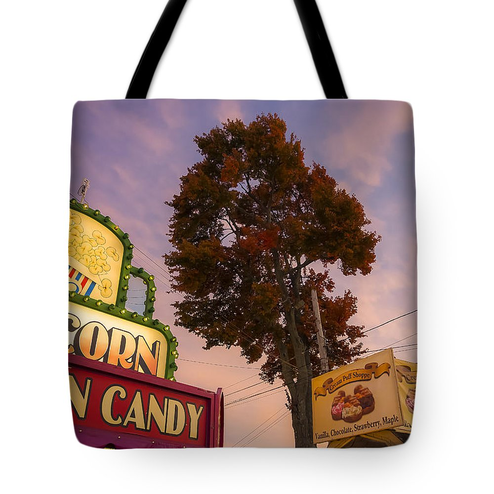 Fair Tote Bag featuring the photograph Cotton Candy by David Stone