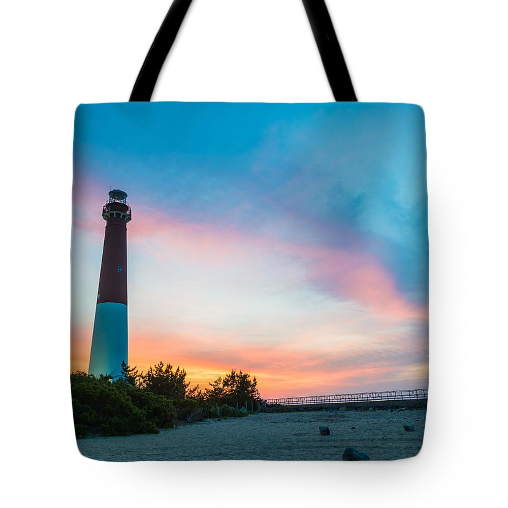 New Jersey Tote Bag featuring the photograph Cotton Candy Day by Kristopher Schoenleber