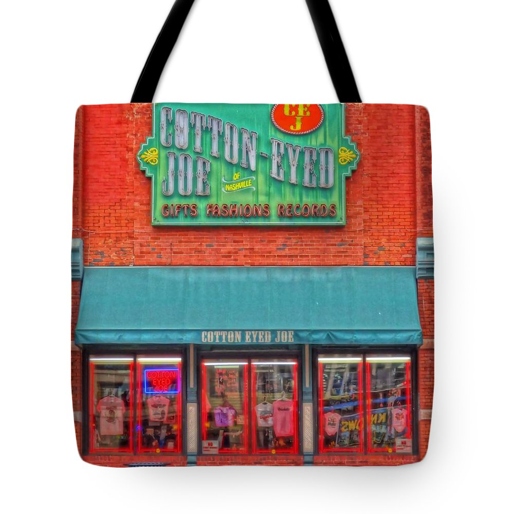Cotton Eyed Joe Tote Bag featuring the photograph Cotton Eyed Joe by Dan Sproul