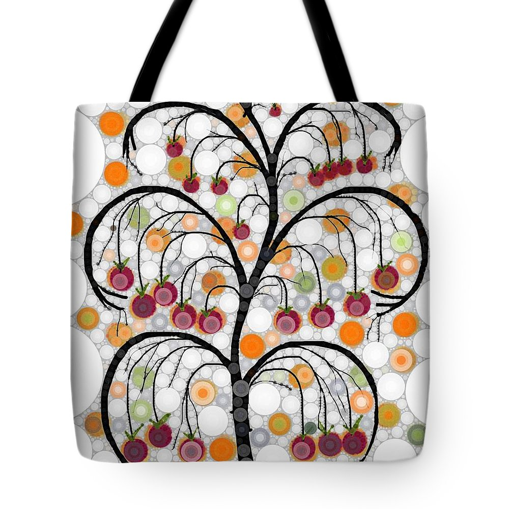 Tree Of Some Kind Of Fruit Tote Bag featuring the digital art Could Refrain by Steven Boland