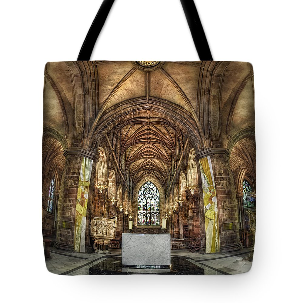 Cathedral Tote Bag featuring the photograph Count Your Blessings by Evelina Kremsdorf