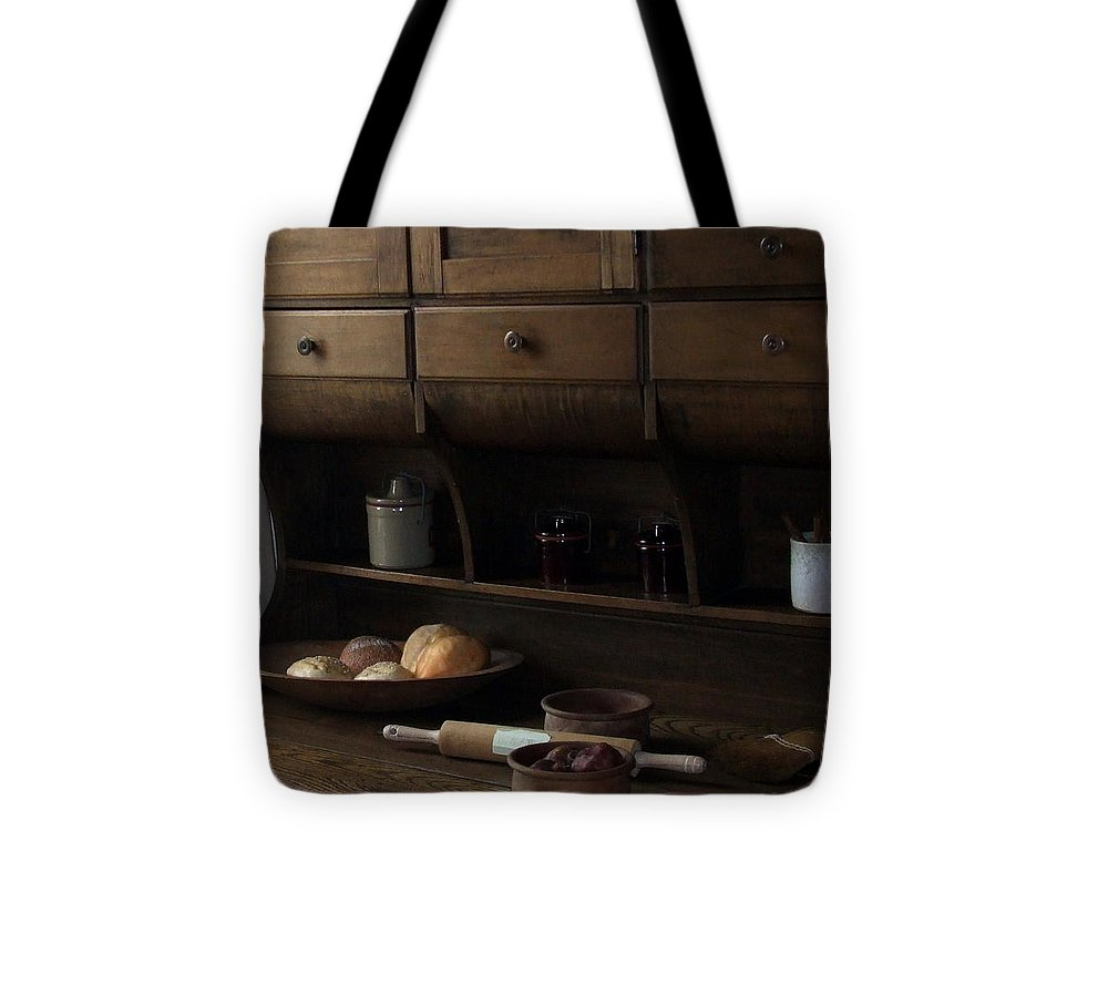 Bread Tote Bag featuring the photograph Country Kitchen by Karen Preston