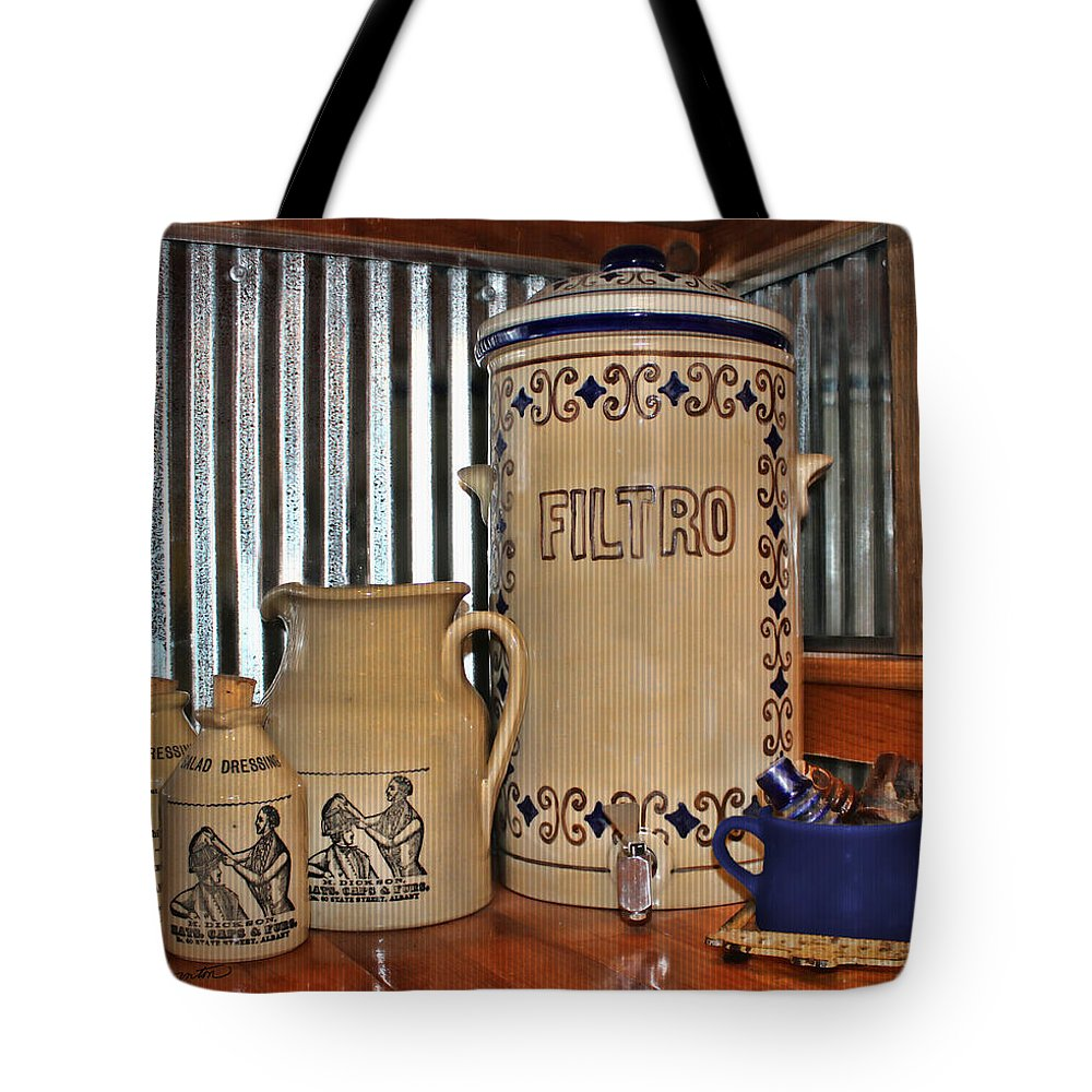 Kitchen Tote Bag featuring the photograph Country Kitchen by Sylvia Thornton