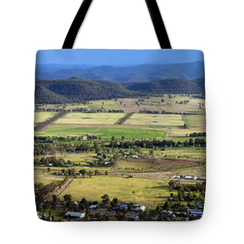 Above Tote Bag featuring the photograph Country Panorama by Tim Hester