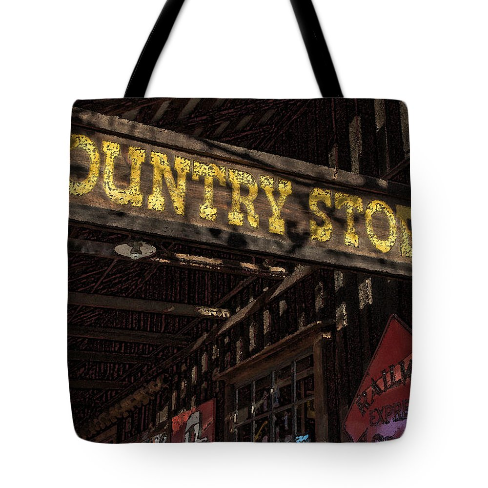 Country Store Tote Bag featuring the photograph Country Store by Mick Anderson