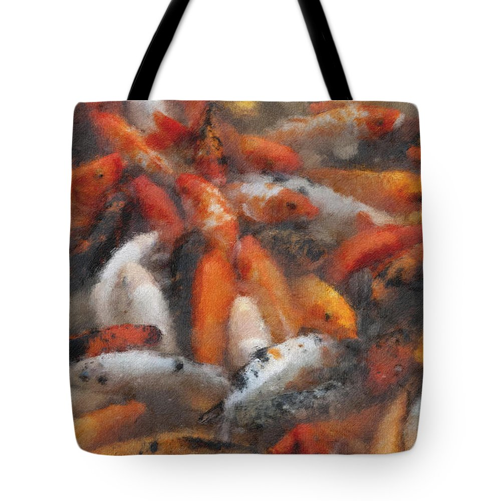 Coy Tote Bag featuring the photograph Coy Pastel Chalk 2 by David Lange
