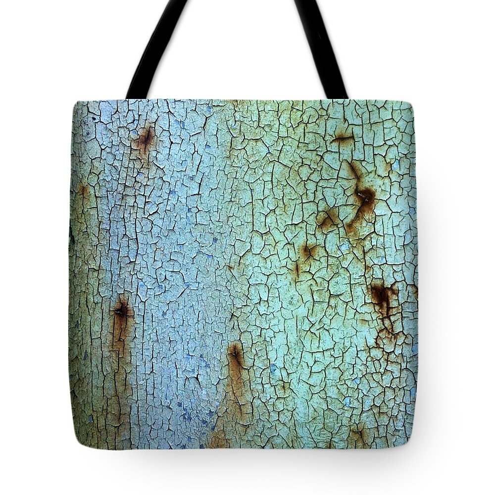 Cracked Tote Bag featuring the photograph Crackled Case by Nicklas Gustafsson