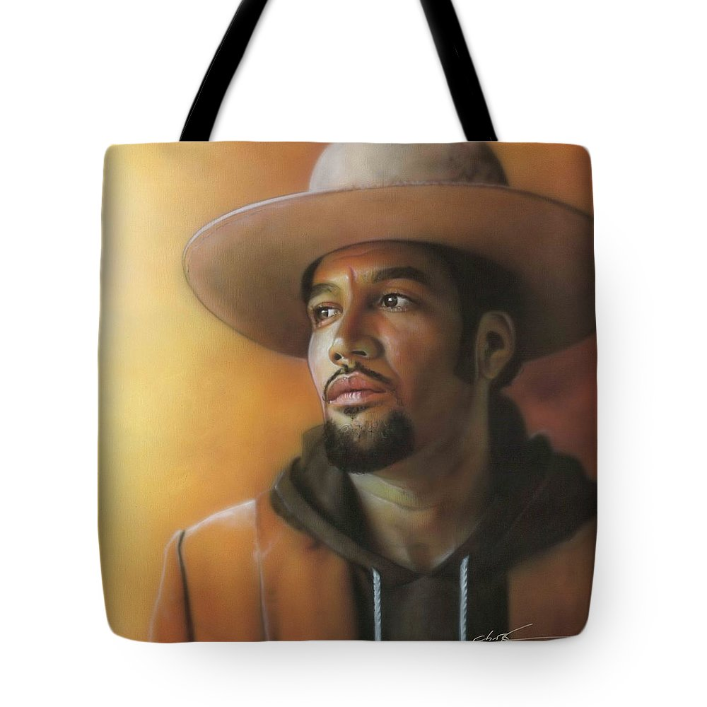 American Tote Bag featuring the painting Crazy Amazing by Christian Chapman Art