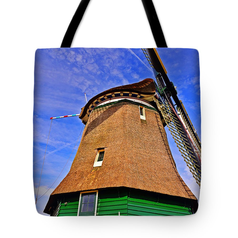 Travel Tote Bag featuring the photograph Creating Land by Elvis Vaughn