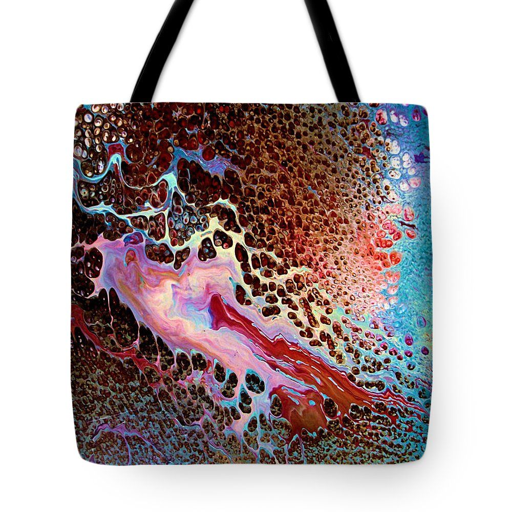 Creative Energy Tote Bag featuring the painting Creative Energy by Natalie Holland
