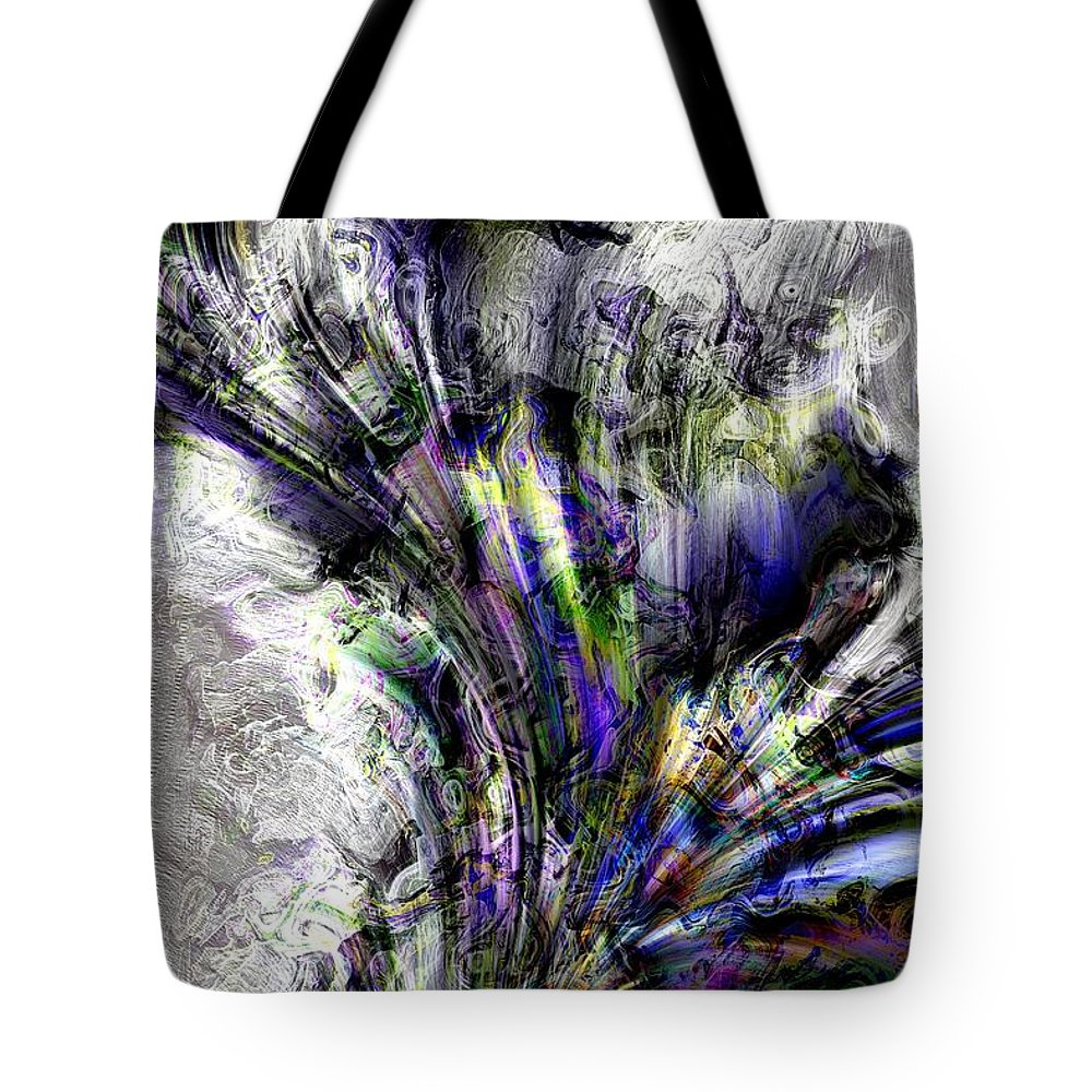 Abstract Tote Bag featuring the photograph Creative Flow by Richard Thomas