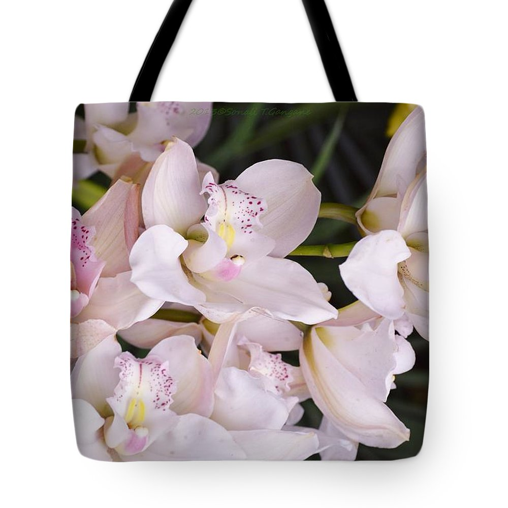 Beautiful Asaian Orchids Tote Bag featuring the photograph Creativity Boundless by Sonali Gangane