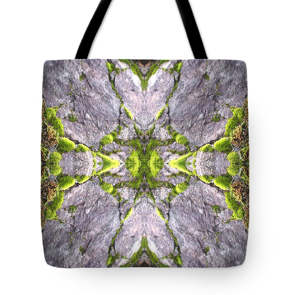 Nature Tote Bag featuring the photograph Cross In The Forest by Candee Lucas