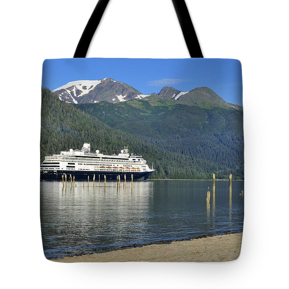 Sandy Beach Tote Bag featuring the photograph Cruising Through History by Cathy Mahnke