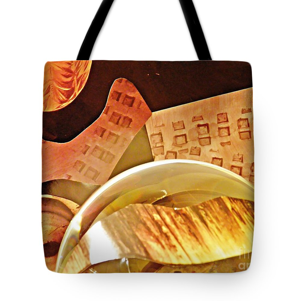 Crystal Ball Project 58 Tote Bag featuring the photograph Crystal Ball Project 58 by Sarah Loft