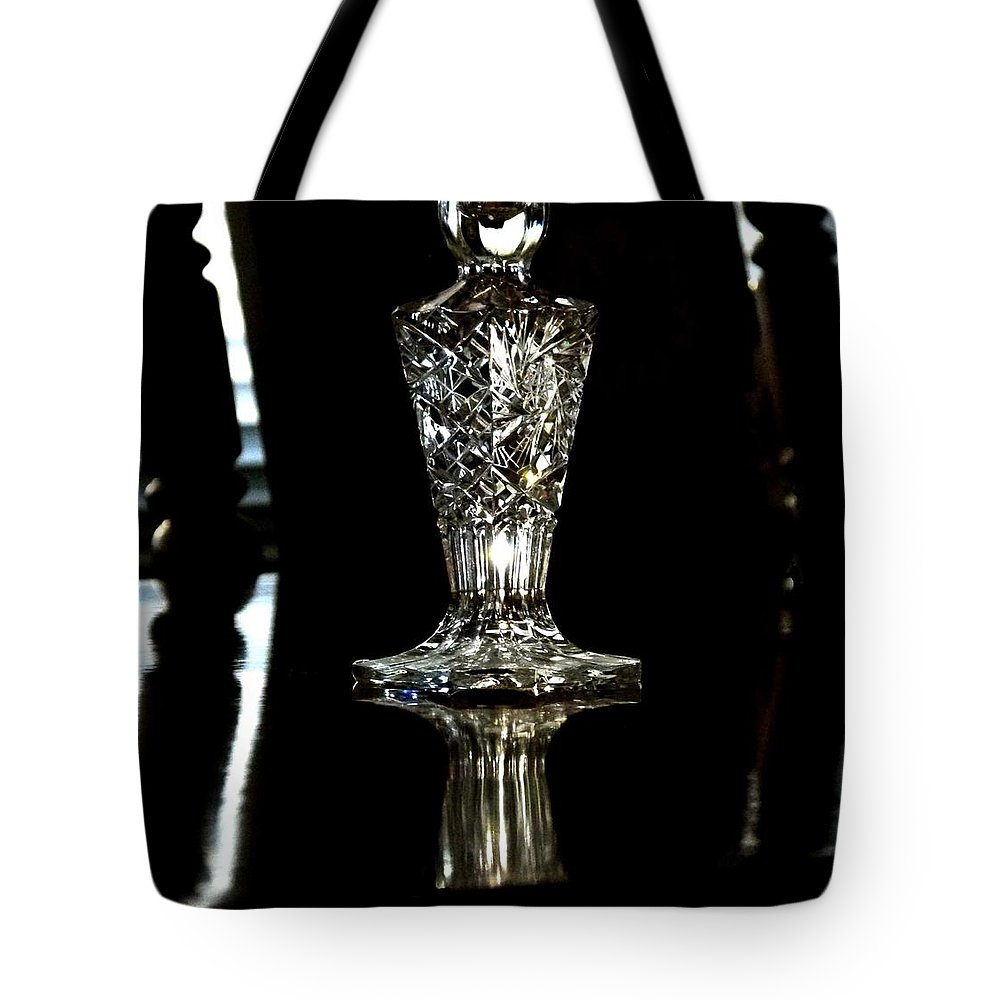 Crystal Clear 3 Tote Bag featuring the digital art Crystal Clear 3 by Will Borden