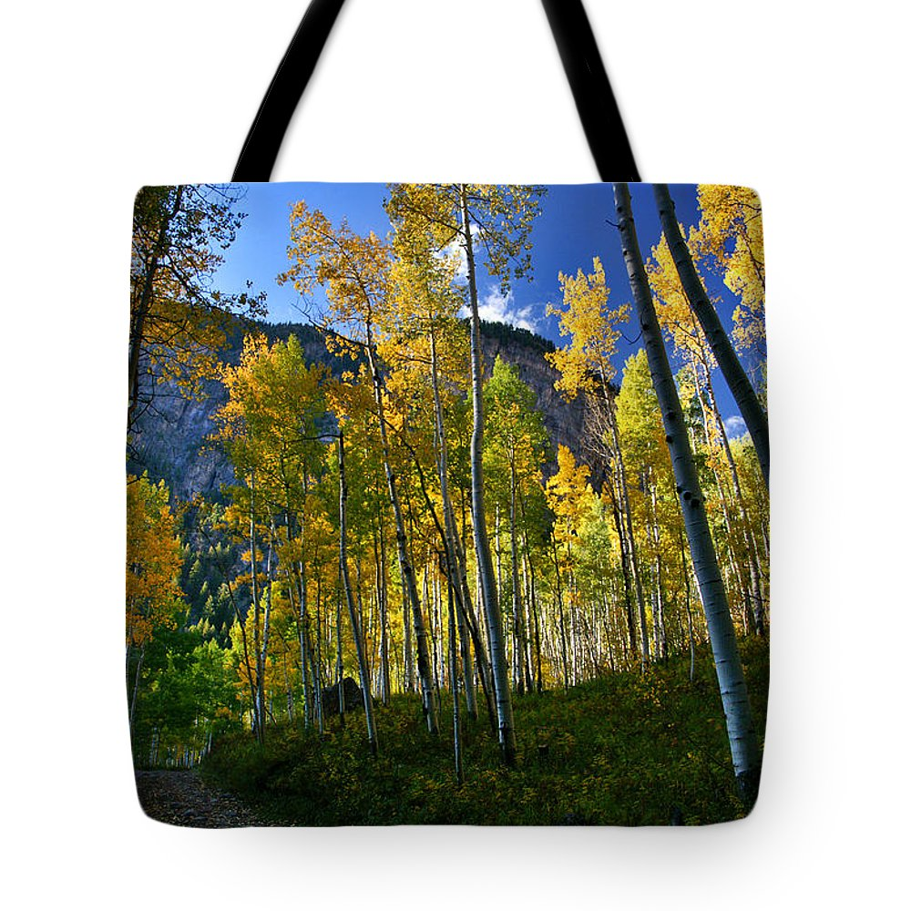 Fall Colors Tote Bag featuring the photograph Crystal Loop by Jeremy Rhoades