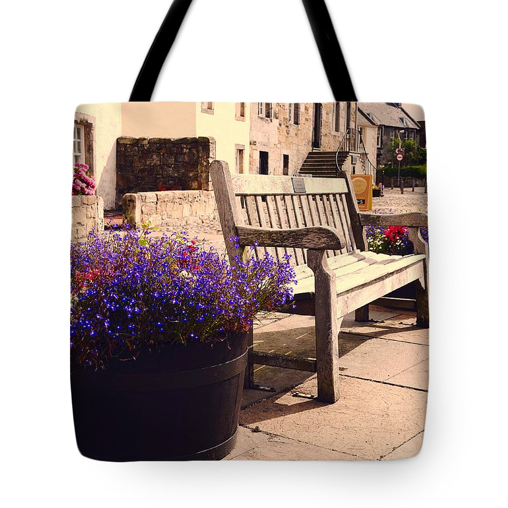 Scotland Tote Bag featuring the photograph Culross Sketches 4. Scotland by Jenny Rainbow